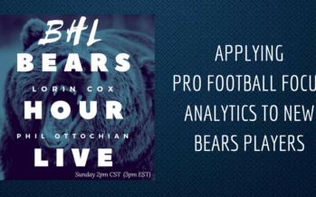 BHL: A Pro Football Focus Look At New Bears