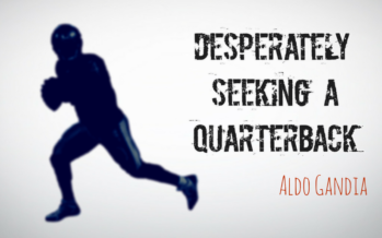 Desperately Seeking A Quarterback