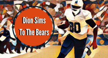 Tight End Dion Sims Headed to the Bears