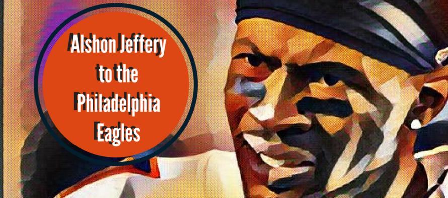 Alshon Jeffery to the Philadelphia Eagles