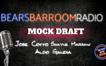 Bears Barroom Radio – Mock Draft with Cotto & Marsaw