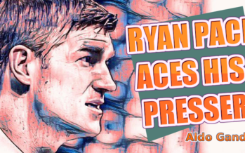 Ryan Pace Press Conference Impresses