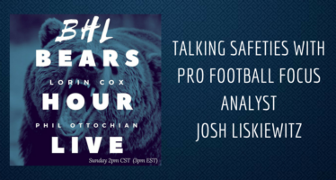 Bears Hour Live: Talking Safeties with PFF Analyst Josh Liskiewitz