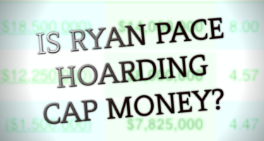 Is Ryan Pace Hoarding Salary Cap Money?