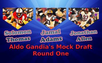 Bears Mock Draft Round 1 – Aldo Gandia as GM