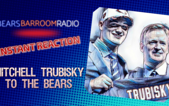 Bears Barroom Radio – INSTANT REACTION TO MITCHELL TRUBISKY PICK