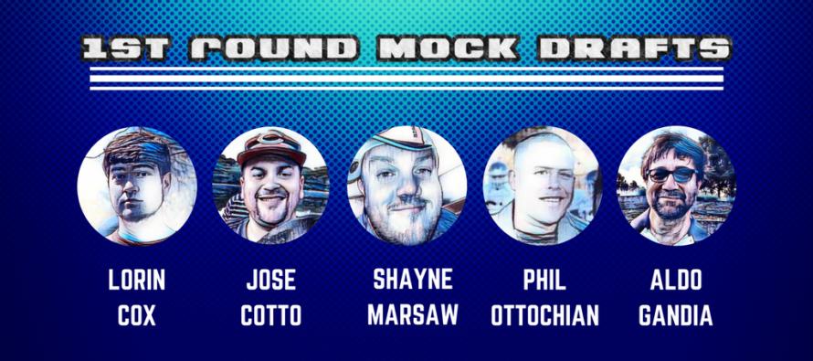 NFL 1st Round Mock Draft Picks