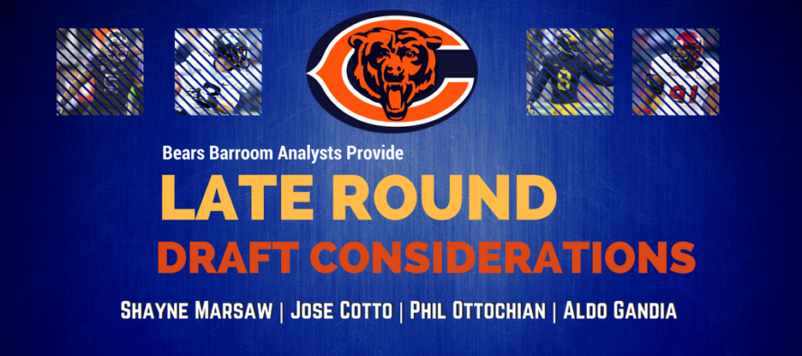 Late Round Targets For Chicago Bears