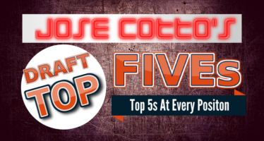 Jose Cotto's Top 5's