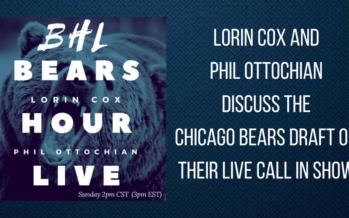 Bears Hour Live – Draft Recap