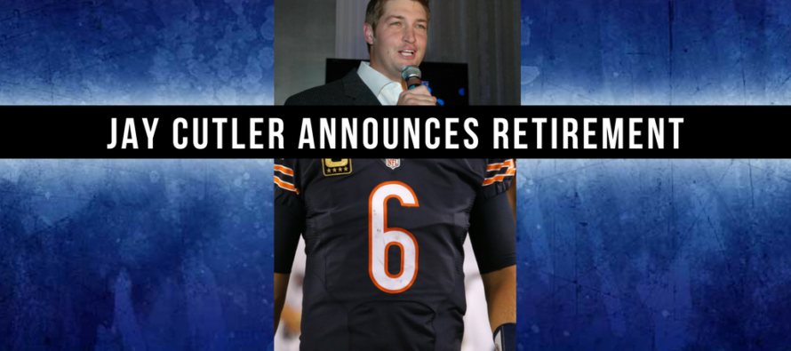 "Jay Cutler ""Retires"" … Becomes Fox Sports Football Analyst"