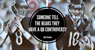 Someone Tell The Chicago Bears They Have A QB Controversy