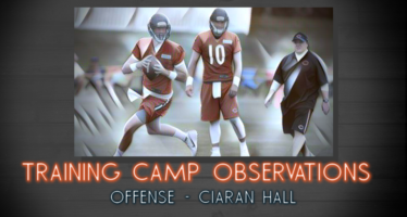 Chicago Bears Training Camp Observations – Offense