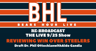 Bears Hour Live – Reviewing Bears Win Over Steelers