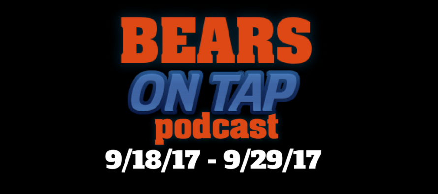 Bears On Tap – Post Packers Debacle & Last On Tap Show?