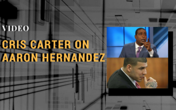 An Emotional Cris Carter on CTE and News of Aaron Hernandez's Condition