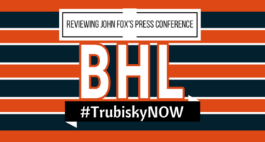 Bears Hour Live – Analyzing John Fox's 9/18 Press Conference – #TrubiskyNOW
