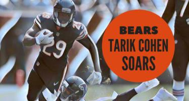 Tarik Cohen Soars In Bears Loss To Falcons