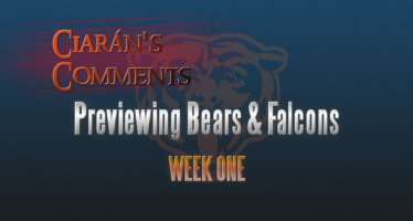 Ciarán's Comments: Falcons at Bears Preview