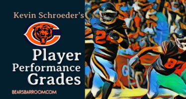 Kevin Schroeder's Bears Player Performance Grades – Week 3