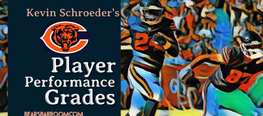 Kevin Schroeder's Bears Player Performance Grades – Week 3
