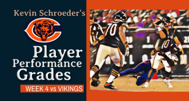 Kevin Schroeder's Player Performance Grades: Bears vs Vikings