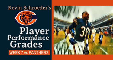 Kevin Schroeder's Bears Player Performance Grades vs Panthers
