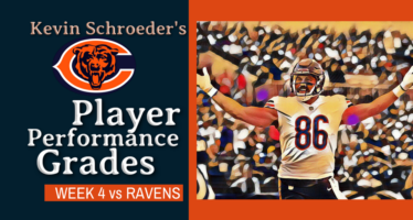 Kevin Schroeder's Bears Player Performance Grades vs Ravens