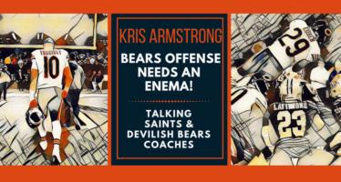 Bears Offense Needs an Enema