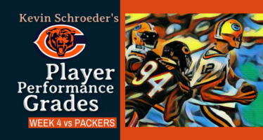 Kevin Schroeder's Bears' Performance Grades Against the Packers
