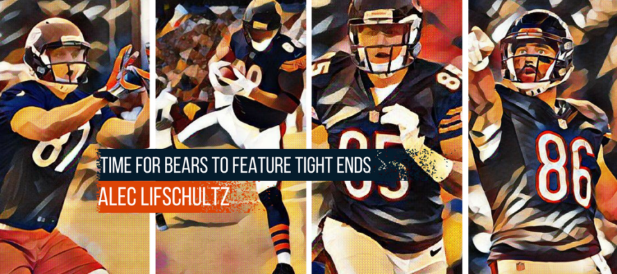 Time For Bears To Feature Their Tight Ends