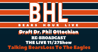 Bears Hour Live with Draft Dr. Phil – Post Eagles Loss & New Barroom Christmas Song!