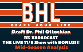 Bears Hour Live – Midseason Analysis with Bonus
