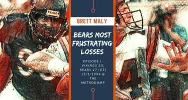 FRUSTRATING MOMENTS IN BEARS HISTORY – Episode I: Vikings 33, Bears 27 (OT)