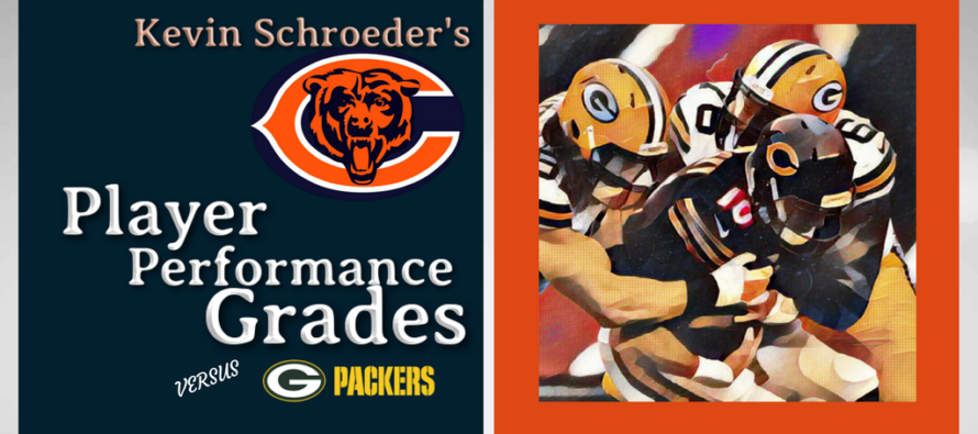 Kevin Schroder's Bears Performance Grades versus the Packers