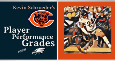Kevin Schroeder's Chicago Bears Player Performance Grades vs Eagles