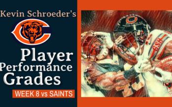 Kevin Schroeder's Bears Player Performance Grades vs Saints
