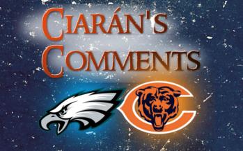 Ciarán's Comments: Bears vs Eagles