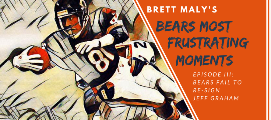 Frustrating Moments In Bears History –  Episode III: The Bears Fail To Re-Sign WR Jeff Graham