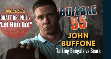 Buffone 55 – The John Buffone Show – Bears vs Bengals and a New Christmas Parody Song