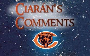 Ciarán's Comments: Bears v Browns