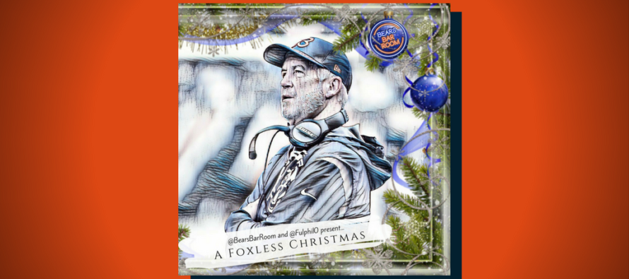 Bears Barroom Presents, Draft Dr. Phil's A Foxless Christmas