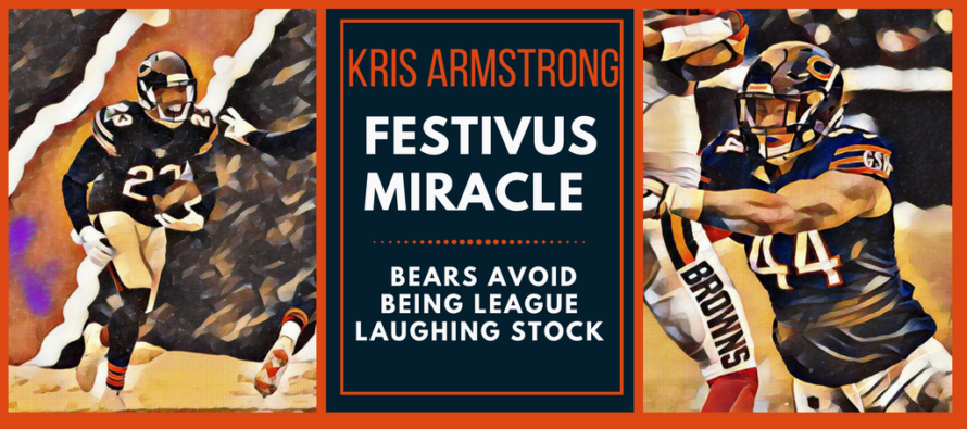 A Festivus Miracle: Bears Beat Browns