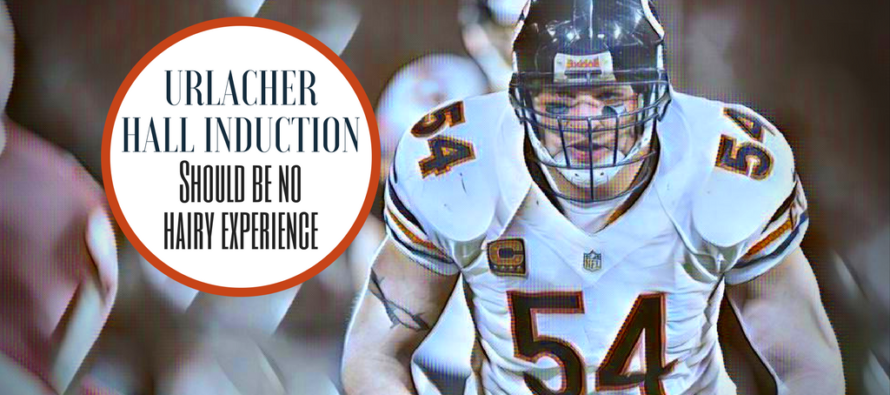 Don't Lose Your Hair Over It, Brian Urlacher Will Be A First Ballot Inductee Into Hall Of Fame