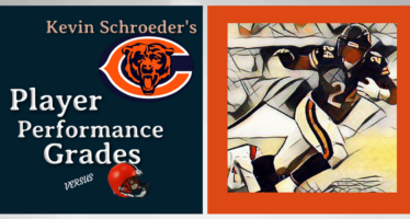 Kevin Schroeder's Chicago Bears Player Performance Grades – vs Browns