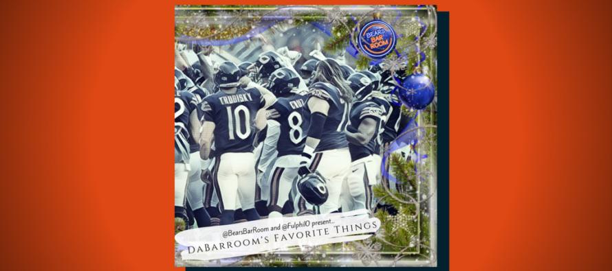 Bears Barroom Presents Draft Dr. Phil's Da Barroom's Favorite Things