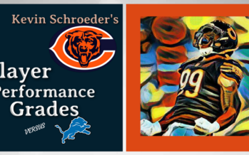 Kevin Schroeder's Chicago Bears Player Performance Grades vs Lions