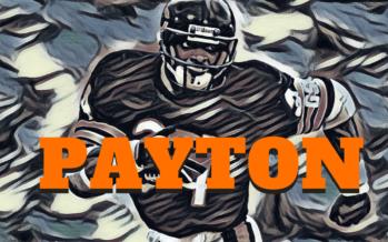 Walter Payton Tribute