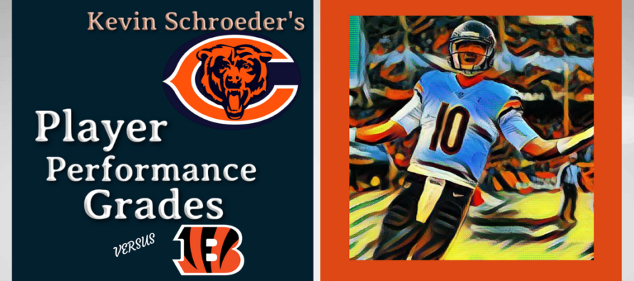 Kevin Schroeder's Bears Player Performance Grades vs Bengals