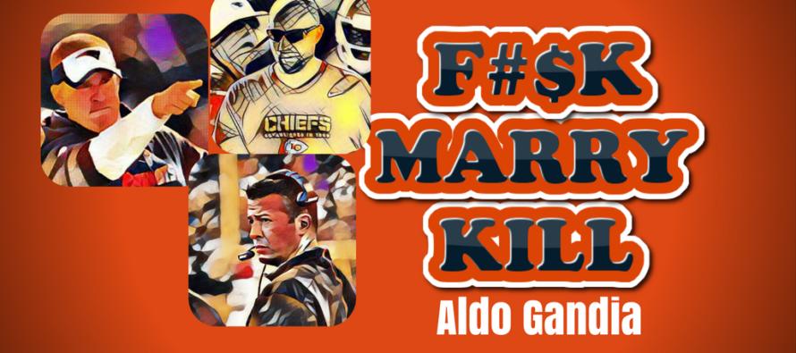 F*#K, MARRY, KILL: Bears Coaching Candidates (NSFW)